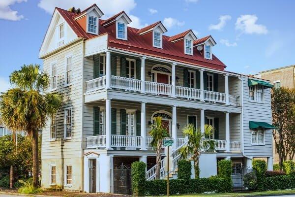 Charleston Single Style Home