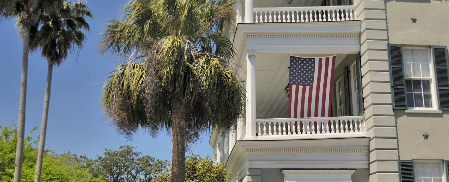 A historic home in Charleston,
