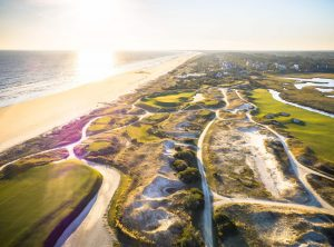 A bird's eye view of Charleston's sea islands, your homebase for our Charleston history guide.