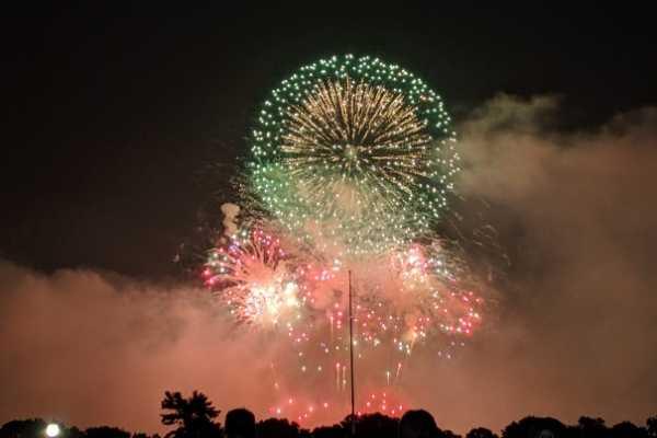 Seabrook Island Fireworks