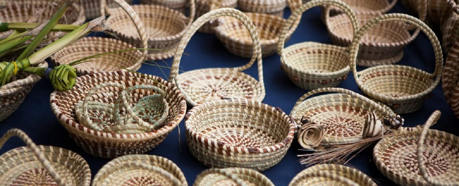 sweetgrass baskets, historical sites in charleston